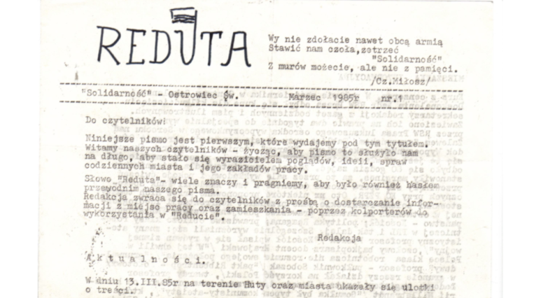 samizdat journal, Poland, published by Czeslaw Milosz